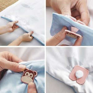4pcs set Cartoon Children Baby Bed Duvet Covers Sheet Holder Clip Clamp Fastener Quilt Cover Gripper Home Convenient Easy Use
