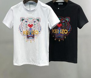 2020 Jeans Mens Striped T shirts Summer Fashion Embroidery Designers Tees Short Sleeved Tops Clothes M61