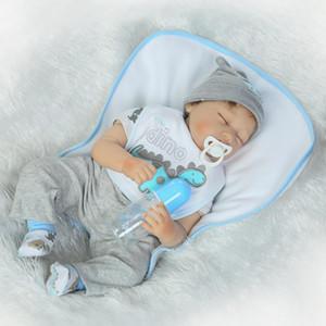 hxldoor httoystore- 22inch Çocuklar için Silikon Reborn Doll Gerçekçi Bebek Yenidoğan 55cm Sevimli Bebek Reborn Bebekler Noel Doğum Hediye Oyuncak
