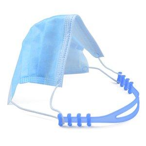 3pcs sostenedor ajustable Máscara agarre antideslizante Máscara del oído Extensión gancho Fa Máscaras accesorios hebilla del sostenedor