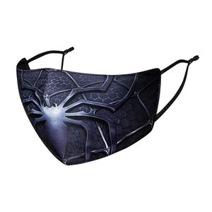 Fashion Cotton printed face M ask with anime pattern can be cleaned and reused Fashion dust mask