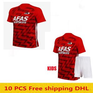 Niños 20 21 AZ Alkmaar fútbol casero Jersey camiseta de fútbol Clasie Evjen DE WIT Stengs Boadu 2020 2021 AZ Alkmaar fútbol Jersey