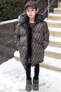 usure double face épais garçons chaud filles neige d'hiver Veste Down Jacket pour les filles 2-12 ans Manteau d'extérieur des petits garçons enfants Parka