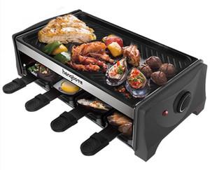 Elettrica domestica Barbecue Forno coreana antiaderente elettrico Barbecue barbecue piastra Teppanyaki 016