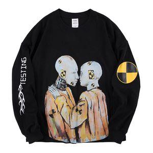 ASAP Rocky Ferido Posto de Merch T-shirt Homens Mulheres Melhores Mens qualidade t-shirts