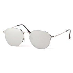 Brand new designer Men's wowen flash mirror hexagon Sunglasses gradient Sun Glasses Square Goggle uv400 sunglass Female gafas 3579 sun glass