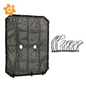 Cubierta superior de malla de protección UV para sombrilla Bikini para Jeep Wrangler JK 4 puerta