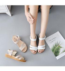 0722hzd223 новые Популярные на открытом воздухе прогулочные плоские тапочки мужские сандалии женские летние прохладные пляжные сандалии с коробкой