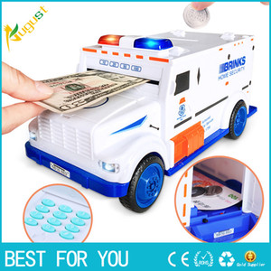 Tirelire Numérique Tirelire Enfant Enfants Cash Money Coin Safe Truck