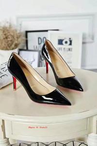 мода Женская мода каблуки свадебные туфли для женщин платье Свадебные дамы офис обувь острым носом женские каблуки обувь