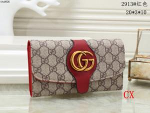RP88 Mode Frauen klassische lange Mappen Haspe Lederhandtasche für Damen Marken-Designer Neue Luxushandtaschen Carteras Verkauf 008