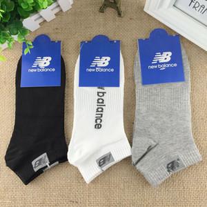 meias masculinas de algodão lazer letra movimento impressão Meias primavera e no verão baixa ajuda boca rasa meias invisíveis novo estilo Direto da fábrica