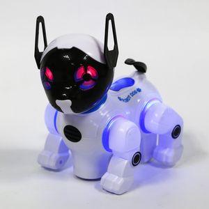 전자 스마트 로봇 개 원격 제어 기계 개 범용 워킹 노래 춤 어린이 조기 교육 장난감 2629-T9