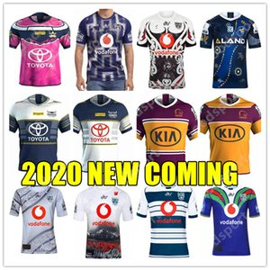 2020 Brisbane Broncos Parramatta Eels Australis COWBOY maglie rugby HOLDEN BLUES Cavalieri guerrieri INDIGENI Sea Eagles 2019 camicie