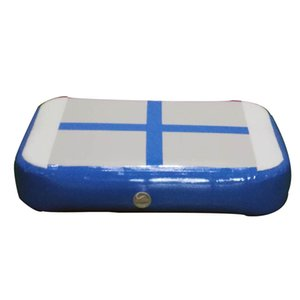 Bonitas alfombras inflables para el hogar pista de gimnasia tumbling protección piscina muelle precio barato
