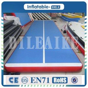 20ft / 23 фута / 26ft Air Track Надувной гимнастика Tumbling Air Track Mat с электронасосом для черлидингу