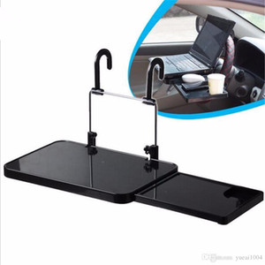 Car Holder Laptop Back Seat Notebook Stand Holder Copa do carro de jantar Mesa dobrável Laptop Levante Acessórios montar alimento bebida bandeja carro laptop