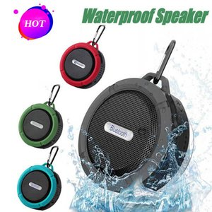 C6 Portable Bluetooth Wireless Subwoofer Bass Waterproof IP65 Speaker With MIC TF Card Hands free call For iPhone Samsung S9 S10
