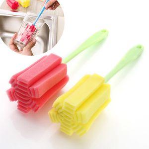 New 1 PC Kitchen limpeza ferramenta Sponge Escova Para Copo de Vinho Garrafa Coffe Tea Vidro Cup limpeza ferramenta Sponge