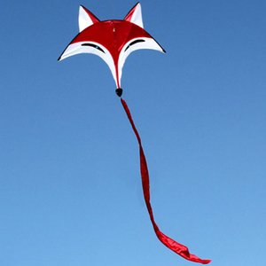 Высокое качество Симпатичные Kite Спорт на открытом воздухе Однолинейный Летающий Kite Спорт-Бич Kite легко летать с 30М Летучий линия для взрослых Детские