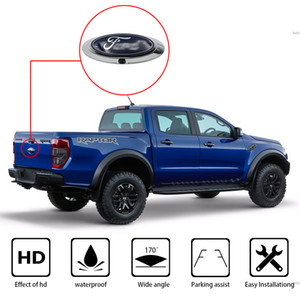 Retrovisor do carro Câmera de Backup Reversa fit FORD RANGER T6 T7 T8 XLT 2012-2019 Sistema de Estacionamento