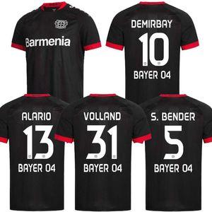 Leverkusen Fussball Jersey L.Bender 2020 2021 Bayer 04 Leverkusen Havertz Jersey Demirbay Alario Volland Männer Kinder Fußballhemd