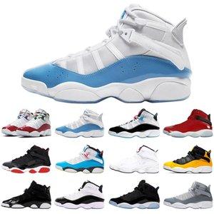 nike air jordan retro 6 6s ring stock x jumpman hommes femmes chaussures de basket-ball de race concord athlétisme hommes formateurs baskets de sport taille 5.5-13