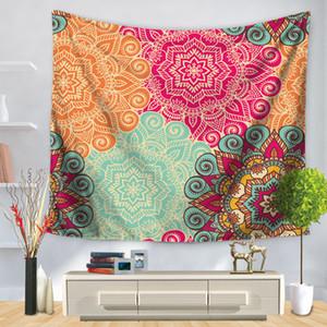 India Mandala Tapestry Wall Hanging Cloth parete Macrame Arazzi Arazzo Mandala tappeto