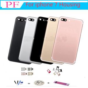 IPhone 7G 7 Artı Arka Pil Kapağı Arka Kapı Konut Case Orta Şasi 7 P Değiştirme + Yapışkan bant + araçları dhl Ücretsiz