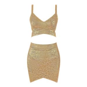 Top 5 цвета сексуальных шей бронза 2 шт розовых серебряной бандажа юбка женщина очарование тело повязка юбка