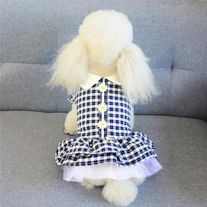 Summer Стильный Pet Прекрасные платья Мода дышащий Дизайнер Домашние животные Юбки Модный Личность Charm Bichion платье Одежда