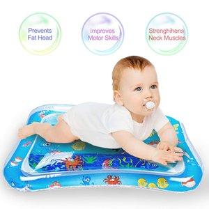 Çocuklar için 2019 NEWBaby Şişme Karın Su yastıklı Mat Akvaryum Etkinlik Merkezi Yastık Oyuncak hediye