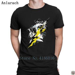 Птицы Prey футболки Известные креативного HipHop Tops футболку для мужчин плюс размер 3XL сплошной цвет весна осень Anlarach моды