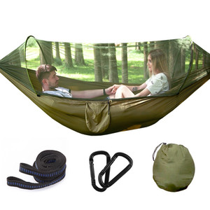 Tree Tents 2 Person Easy Carry Quick Automatic Opening Tent Hammock with Bed Nets Summer Outdoors Air Tents Fast Shipping FY2066