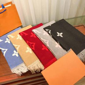 2019 inverno luxo 100% cachecol de caxemira, big-carta lenços clássicos para ambos os estilistas masculinos e femininos, como um presente