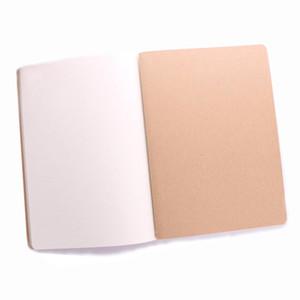 Новый бумажный блокнот путешествия дневник канцелярские пустой блокнот кожа книга тетрадь старинные мягкие ежедневные Блокнот бумаги для студентов