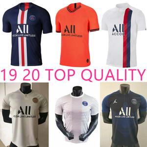 19 20 PSG Paris camiseta de fútbol 2019 2020 Mbappé Marquinhos ANDER HERRERA NAVAS París Icard Maillots de foot camisa de entrenamiento