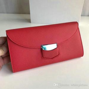 I titolari di cuoio England stile nuovo modo all'ingrosso 2019 raccoglitore delle donne di alta qualità della carta della tasca borsa Portafogli Designer frizione Portafoglio