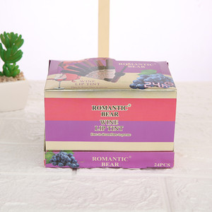 Impermeabile a lunga durata ROMANTIC BEAR Vino Lip Tint liquidi rossetti cosmetici 6 colori disponibili drop shipping