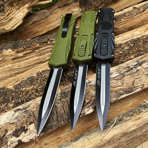 New EDC OUT the Front Automatic Knife tactical Combat camping utility hiking Auto knives Pocket Knife