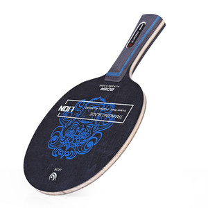 BOER Outdoor Lion Pattern Table Tennis Ping Pong Racket Training Blade