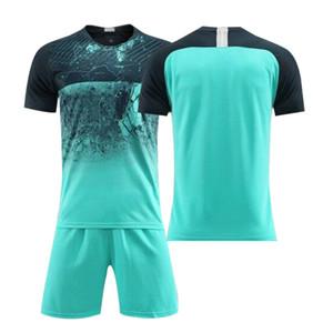 Vêtements à manches courtes sport lastest Porter Formation Costumes Football Football maillot Blank hommes Survêtements Uniformes