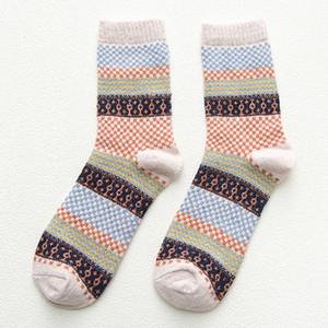 Mode Weiche Dicke Socken Männer Kaschmir Lässige Kaninchen Wolle Mischung Garn Warme Socken Japanischen Stil Herbst Winter Männer Wollsocken