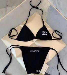 Yeni Bikini Seti 2020 Straplez Düşük Bel mayolar Kadın Beachwear Yüksek kesim mayo seksi mayo Çiçek Mayo