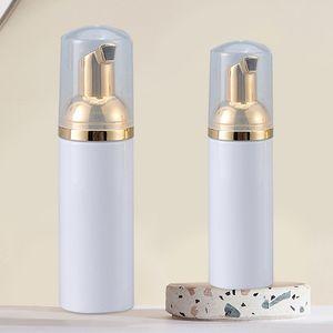 30ml 50ml 80ml Bouteilles en plastique mousse Vider Foamer bouteilles avec lavage à la main Pompe d'or savon Bouteilles Mousse Shampooing Bouteille Distributeur BH3793 TQQ