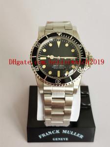 2019 Venda de Negócios dos homens Relógio de Pulso de Alta qualidade 40mm 14060 dos homens Relógio de Pulso Data Black Dial Aço Inoxidável Pulseira Mecânica Automático