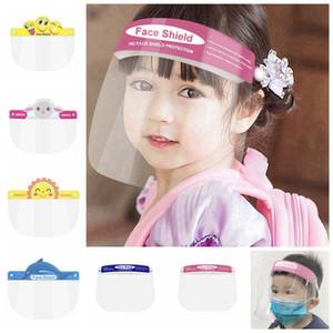 Designer Children Fa Tool Transparent Anti-fog Safety Shield Fa shield Film Protective RRA3277 Full Kids Masks Cover Phxwu