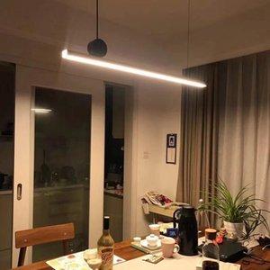 Modern Geometric strip pendant lamp Nordic copper creative pendant light AC 90-265V living room bedroom hanging lamp light fixtures