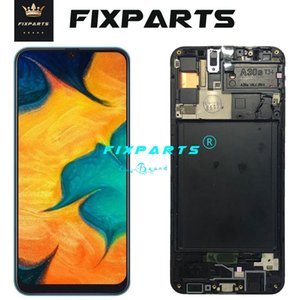 ORIGINAL SUPER AMOLED LCD for SAMSUNG Galaxy A30 A307F DS A307 Display Touch Screen Digitizer Assembly A30s LCD For SAMSUNG A30s