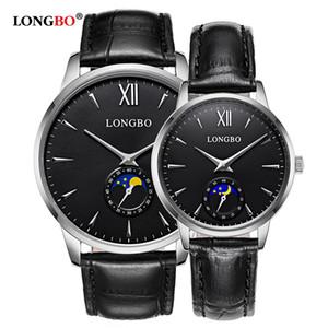 2020 Longbo Marca Breve projeto luxuoso relógios analógicos Casal Homens Mulheres montres Waterproof o relógio de designer de pour hommes 5008